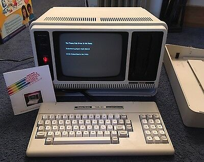 Vintage Radio Shack TRS-80 Model 4P Portable Computer