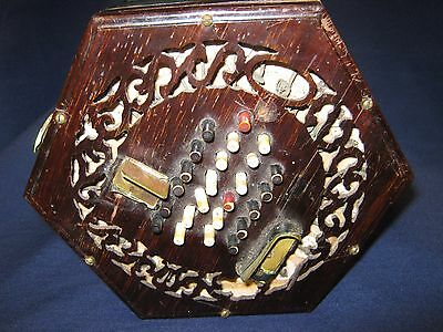 Lachenal 48 Key English Concertina for Restoration