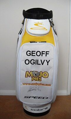 Geoff Ogilvy 2009 Cobra Masters Signed Golf Staff Bag Us Open Formerly Titleist
