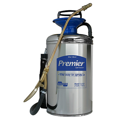 Chapin 1253 Premier Pro 2-Gallon Stainless Steel Sprayer
