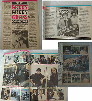 Duran Duran article from magazine ....green grass of home...