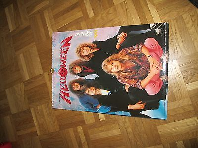 Original HELLOWEEN calendar 1991 in perfect condition Gamma Ray Blind Guardian