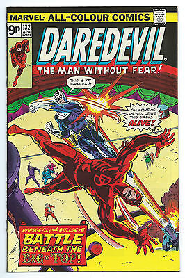Daredevil 132 NM- 9.2 2nd Appearance of Bullseye