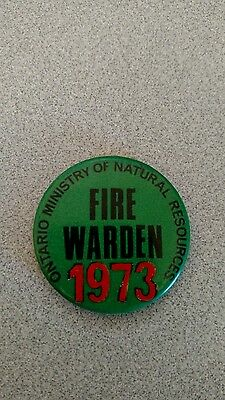 Ontario Forest Fire Warden Pin Badge