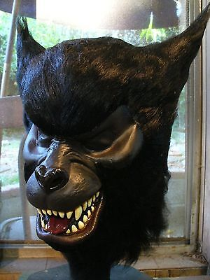 Don Post Studios MASTER Black Timberwolf Mask ~ Tharp