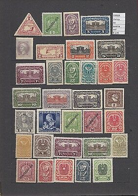 Stamps  Lot Austria Mh*  (L18108)