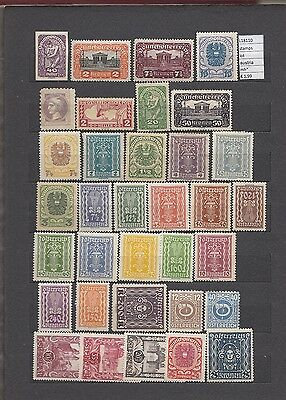 Stamps  Lot Austria Mh*  (L18110)