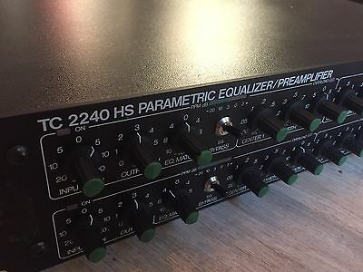 TC Electronic 2240 Parametric Equalizer /Preamp - Great Condition!