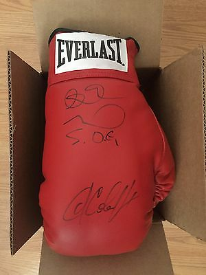 Andre Ward and Sergey Kovalev Signed Autographed Everlast  Boxing Glove