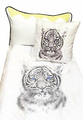 Miss Princess and Little Frog Set in Tencel 100 x 135/40 x 60 cm Tigre (y7q)