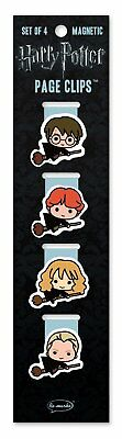 Re-marks Harry Potter Chibi Flyers Magnetic Page Clips