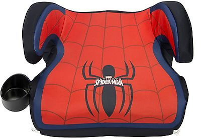 KidsEmbrace Fun-Ride Backless Booster Car Seat, Ultimate Spider-Man
