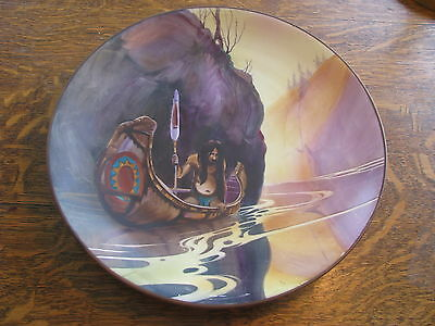 Ultra Rare Nippon Native American Indian Charger
