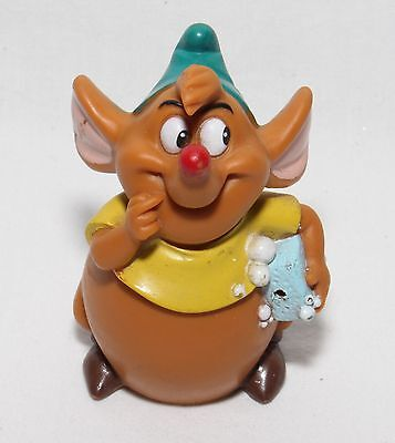 "Disney Cinderella GUS the mouse PVC figure 2.5"" rubber figure"