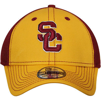 a4a0421355e5a get usc trojans new era team front neo 39thirty flex hat gold cardinal  small 8128b b47d1