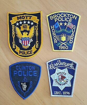 USA - 4 x Different Police Patches - 06