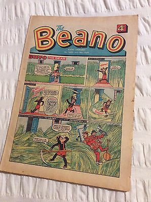 BEANO Vintage Comic No 1409 JULY 19 1969 GOOD CONDITION 50th Birthday Present