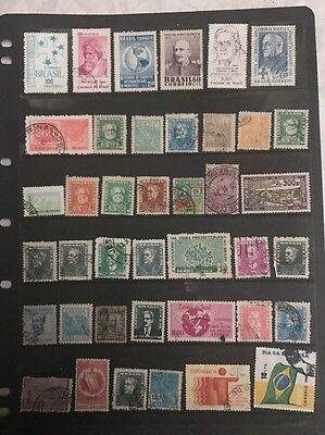 stamps  Brazil - Used  - Lot 615