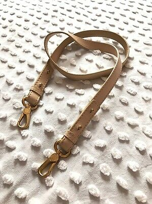 Beige Leather Marc By Marc Jacobs Replacement Shoulder Strap for Purse