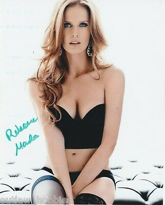 Rebecca Mader Once Upon A Time Autographed Signed 8x10 Photo COA