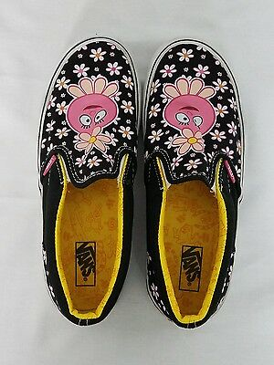 Yo Gabba Gabba Foofa Vans Girls Shoes Kids Size 4