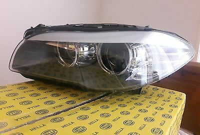 Genuine BMW 5 Series F10 F11 Headlight Halogen Passenger Near Side New