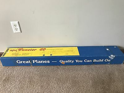 Brand New in Box Vintage Hobby Lobby RCM Funster 40 Model RC Airplane Kit!!!