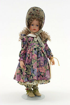 Mary Mary Quite Contrary vinyl collectible nursery rhyme doll by Robert Tonner