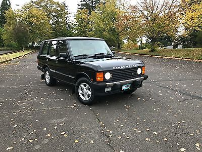 1995 Land Rover Range Rover Walnut Burl 1995 Land Rover Range Rover County Classic SWB