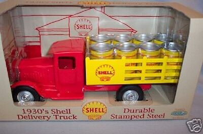 Metalcraft Replica Shell Barrell Truck Mint in box Gearbox 2001