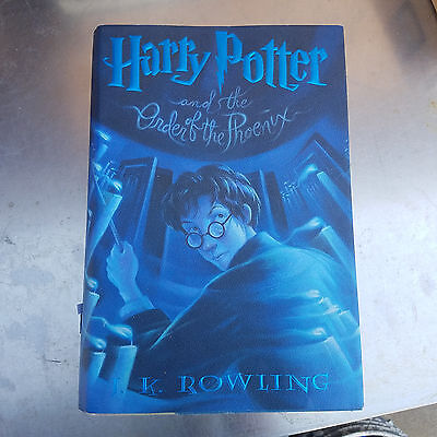 Harry Potter and the Order of the Phoenix 1st American Edition 2003 Hard Cover