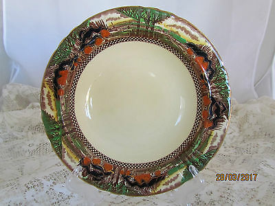Vintage English Myott & Son 'England's Countryside' Rimmed Soup Bowl