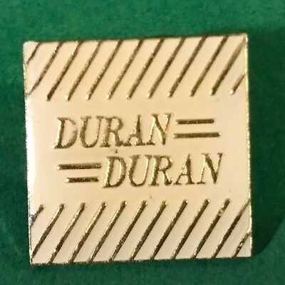One Duran Duran English New Wave Synthpop Band Group Music Square Lapel Pin