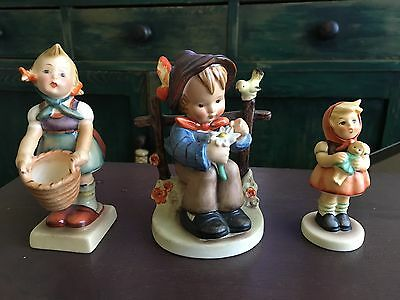 Authentic Hummel Figures All In Perfect Condition