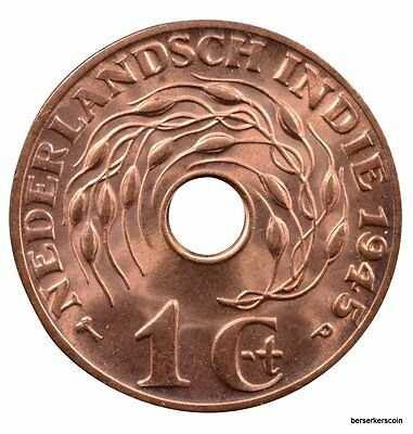 Netherlands East Indies Cent 1945 #a2