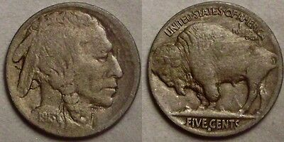 1913-S type 2 Buffalo Nickel *nice*