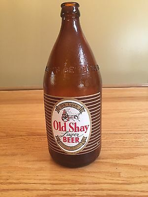 Vintage Old Shay Lager Beer Bottle Smithton,pa