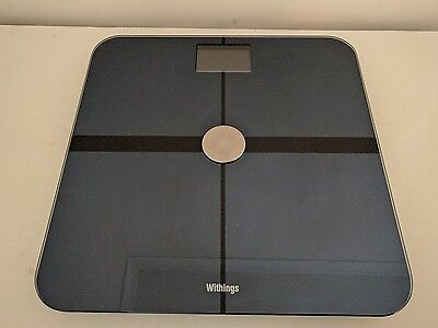 Withings WS-50 Wi-Fi Body Digital Weight Fat & Lean Mass Smart Body Scale