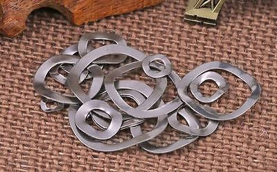 304 Stainless Steel Spring Lock Washer Wave Washers M3 M4 M5 M6 M8 M10