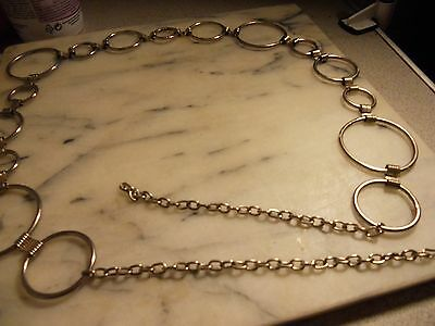 Vintage Chain Belt Adjustable New Old Stock from 1960s sturdy
