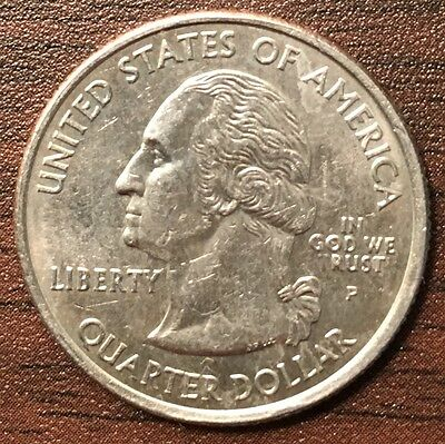 2005 United States USA State Quarter Kansas Strike Error IN GOD WE RUST