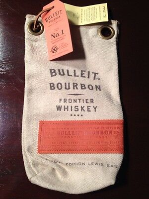 Bulleit Bourbon Frontier Kentucky Straigh Bourbon Whiskey Special Edition Bag