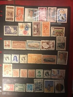 stamps Brazil - MH and used - lot 394
