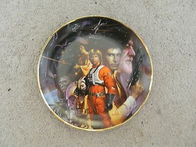 STAR WARS From the Star Wars Trilogy plate collection The Hamilton Collection