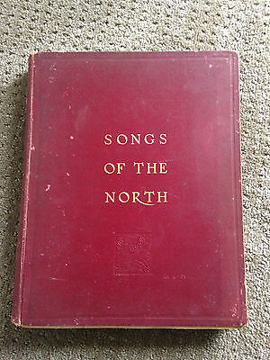 """""""Songs Of The North"""" Eight Edition - Highlands of Scotland antique music book"""