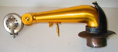 Vintage Phonograph Victor ? Talking Machine Victrola Gold Tone Arm & Reproducer