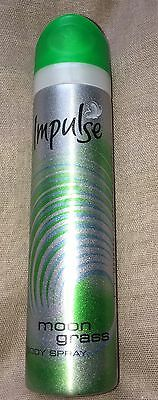 Vintage Impulse Year 2002 Moongrass Body Spray Rare And Cannot Buy From Anywhere