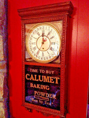 Calumet  vintage  Large advertising clock