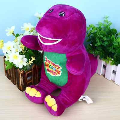 """NEW Singing Barney and Friends Barney 12"""" I LOVE YOU Song Plush Doll Toy Rare ^^"""