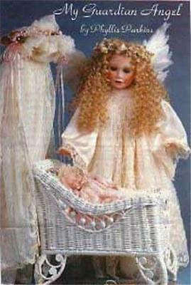 Beautiful PHYLLIS PARKINS  MY GUARDIAN ANGEL Porcelain Doll w/COA Brand New NRFB